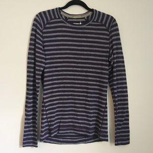 Smartwool striped long sleeve shirt XL